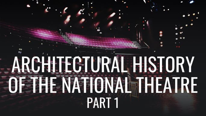 Architectural History of the National Theatre: Part 1 - Google Arts & Culture   Thespie