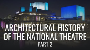 Architectural History of the National Theatre: Part 2 - Google Arts & Culture | Thespie