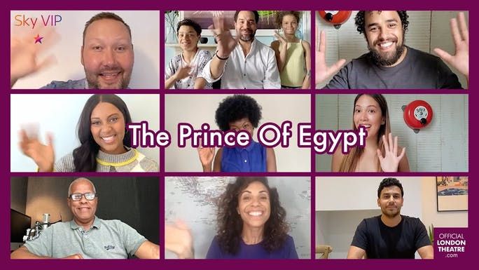 Behind The Curtain with: The Prince Of Egypt - YouTube   Thespie