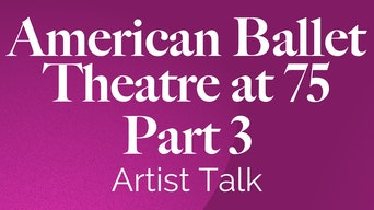American Ballet Theatre at 75: Part 3 - YouTube | Thespie