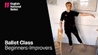 Beginners/ Improvers Ballet Class #1 - YouTube | Thespie