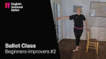 Beginners/ Improvers Ballet Class #2 - YouTube | Thespie