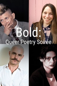 Bold: Queer Poetry Soirée Tickets London - at Above The Stag Theatre | Thespie