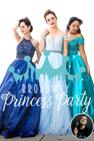 Broadway Princess Party Tickets London - Leicester Square Theatre | Thespie
