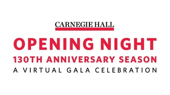 Carnegie Hall Opening Night of the 130th Anniversary Season - YouTube | Thespie
