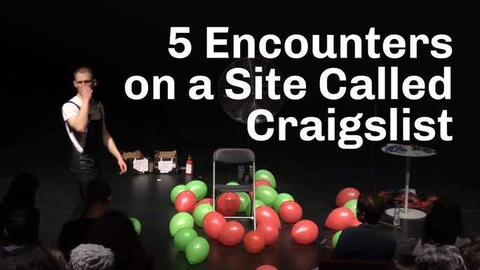 Five Encounters on a Site Called Craigslist - Vimeo   Thespie