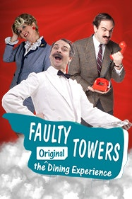 Faulty Towers: The Dining Experience Tickets London - at Torquay Suite Theatre | Thespie