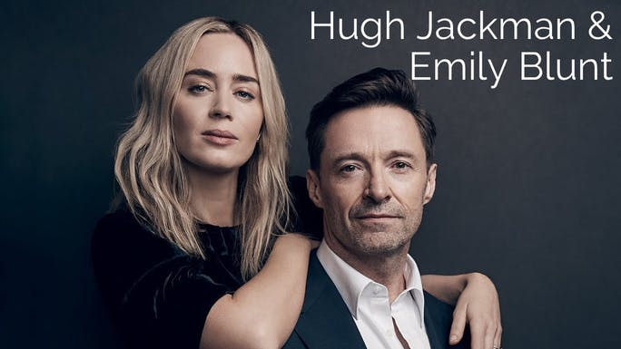 Emily Blunt and Hugh Jackman - YouTube   Thespie