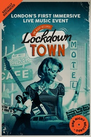 Lockdown Town Tickets London - at One Night Records | Thespie