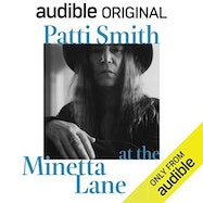 Patti Smith at the Minetta Lane - Audible | Thespie