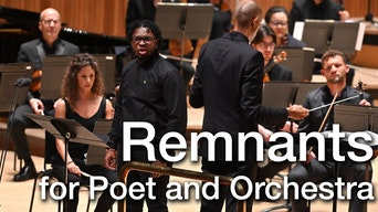 Remnants for Poet and Orchestra - YouTube | Thespie