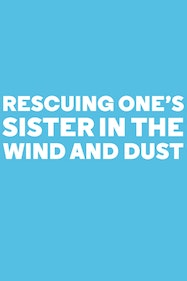 Rescuing One's Sister In the Wind and Dust Tickets London - at Almeida Theatre | Thespie