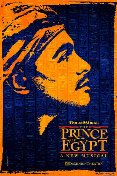 The Prince of Egypt Tickets London - at Dominion Theatre | Thespie