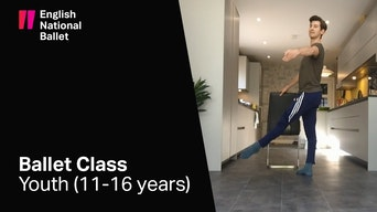 Youth Ballet Class - YouTube | Thespie