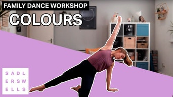 Family Dance Workshop: Colours - YouTube | Thespie
