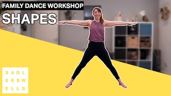 Family Dance Workshop: Shapes - YouTube | Thespie
