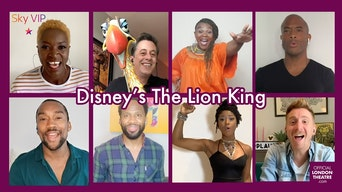 Behind The Curtain with: Disney's The Lion King - YouTube | Thespie